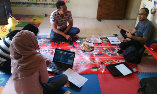 Assessment Minat, Kapasitas dan Peluang untuk Yayasan Sadar Hati, Malang, 12-14 Oktober 2015