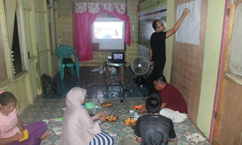 Pendampingan Penyusunan Business Plan dalam Program TFCA-KSM Jala, Beurau, 20-22 Oktober 2015