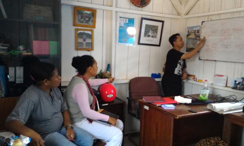 BTOR untuk Penguatan Kelembagaan Koperasi Mbilin Kayam, Sorong-Papua Barat, 10-12 Maret 2016