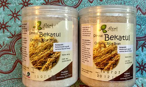 Sereal Bekatul Organic Rice Bran