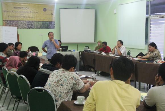 Workshop Menuju Keberlangsungan Produksi dan Kesejahteraan Masyarakat, Depok, 4-6 Maret 2014