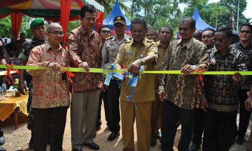 """Liputan Peresmian Kantor dan Gudang Koperasi Perkebunan """"Kakao Unggul"""", Aceh Utara, 2 Maret 2016"""