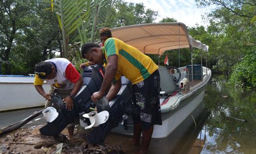 Hasil Assessment Mbilin Kayam, Sorong-Papua Barat, 12-16 Januari 2016