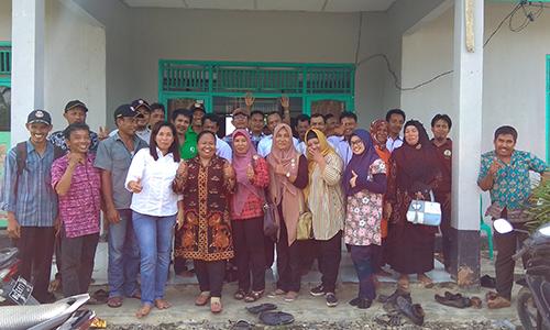 Sosialisasi Perencanaan Kawasan Perdesaan Kelapa dan Mina Purun