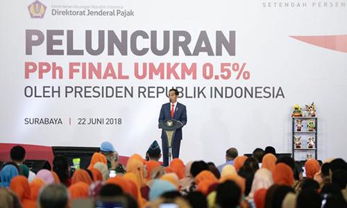 Tarif PPh Final UKM Sebesar 0,5% Berlaku Mulai Juli 2018